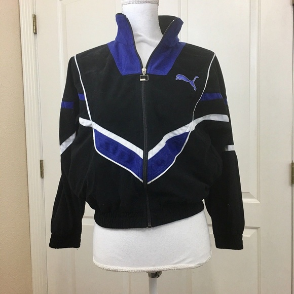 Women's Clothing Activewear Vintage Women's Track Coat Size Small